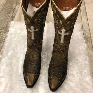 Dan Post cowgirl boots sz 8